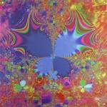 Butterflire, digital, fractal, Lianne Todd