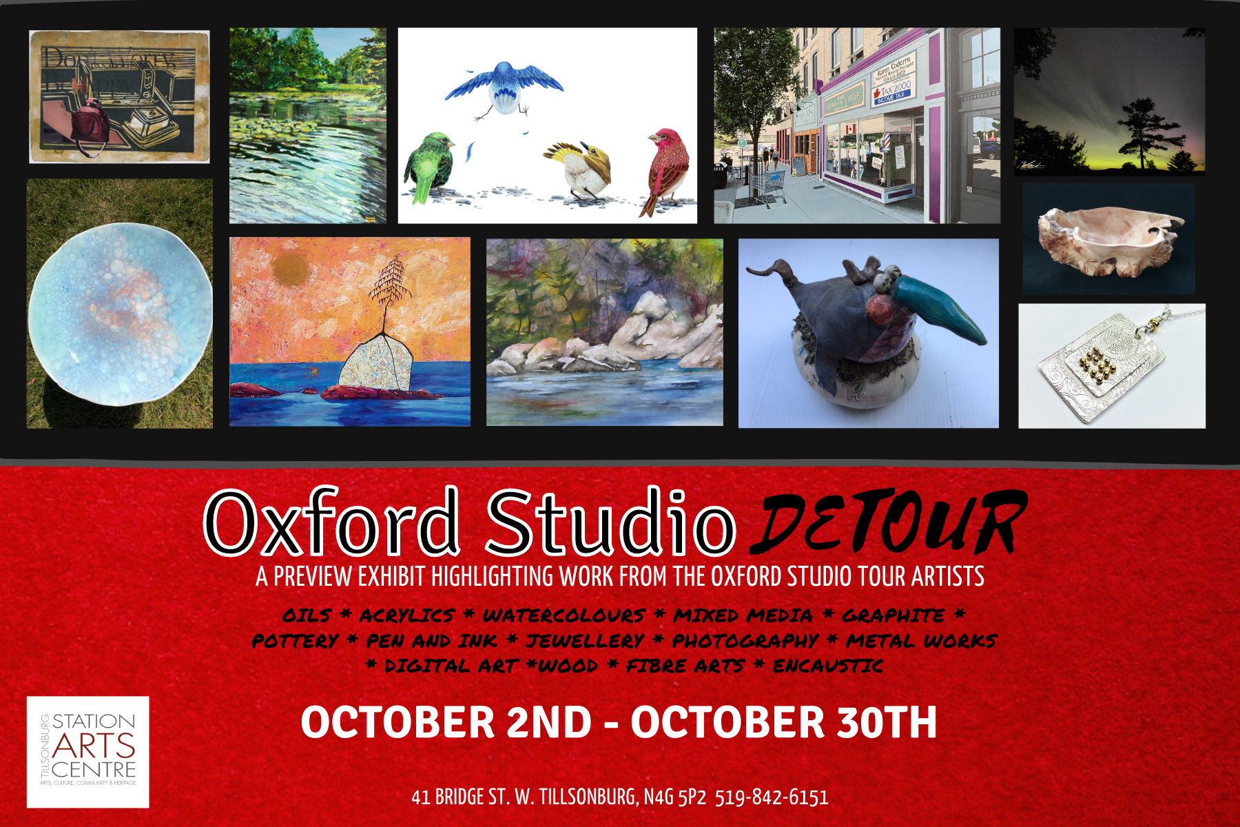 Oxford Studio Detour Invitation
